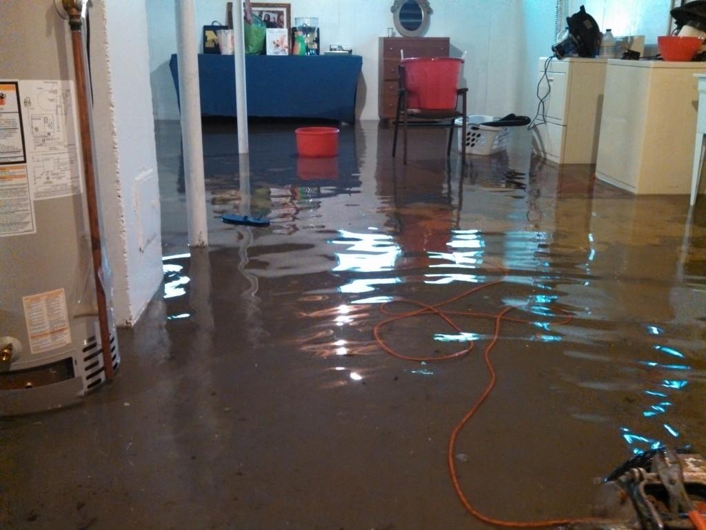 flooding basement