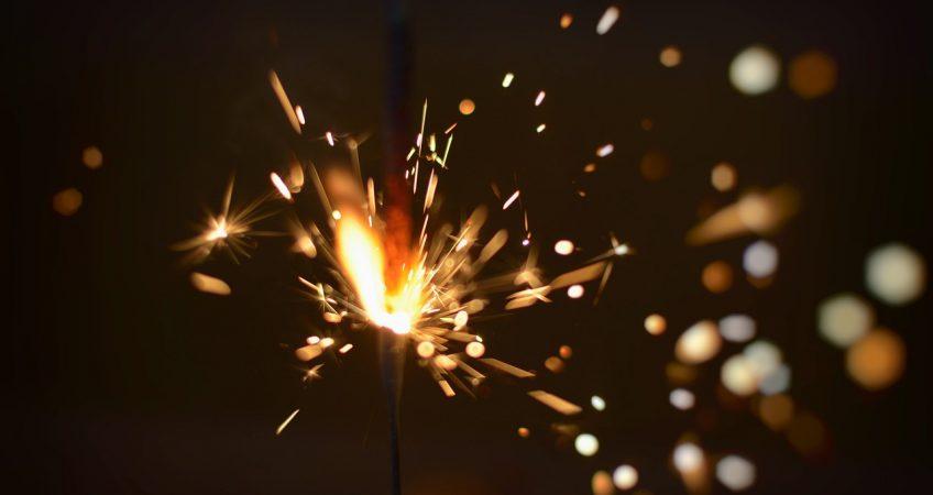 Fizzling Sparkler